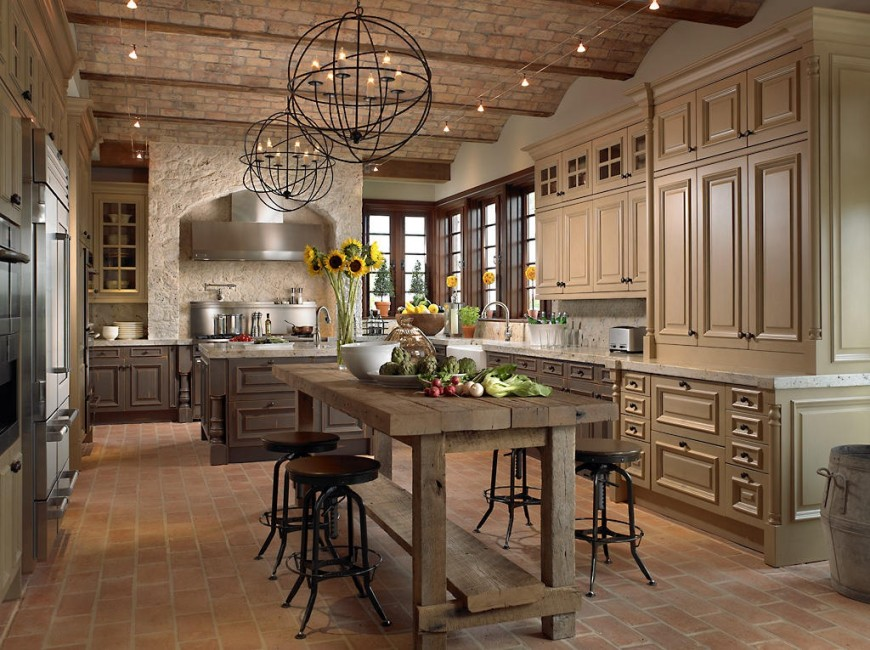 a-french-country-kitchen-with-amusing-country-kitchens-
