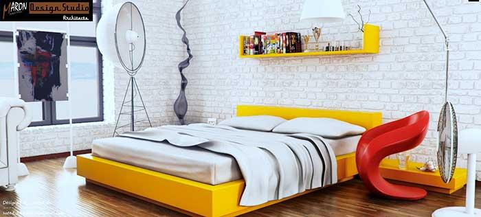 بازسازی و طراحی اتاق خواب مدرن منزل