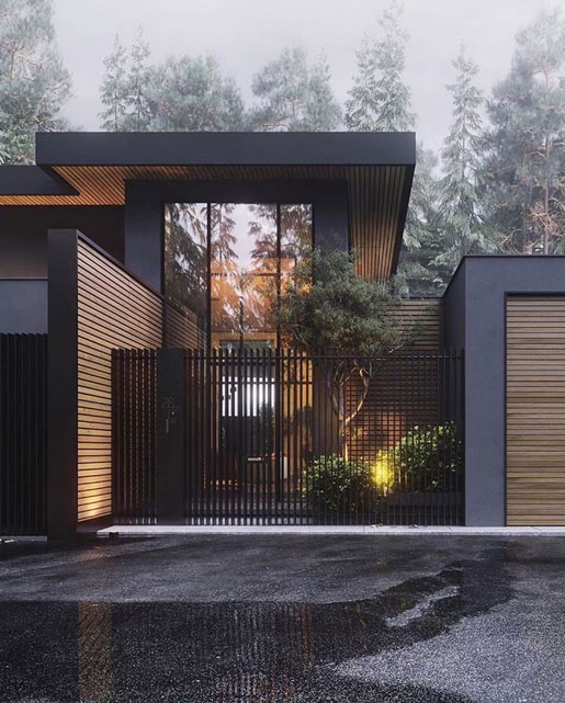 طراحی داخلی ویلای مدرن